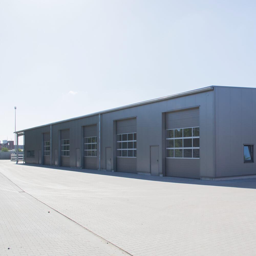 W1 Neubau | Umbau Bauhof